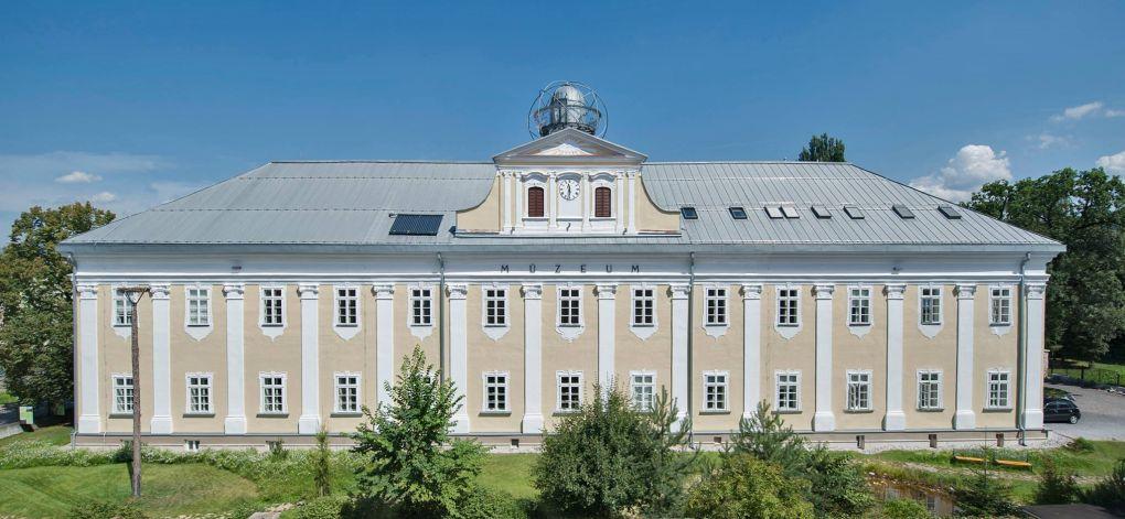 muzeum ochrany prirody a jaskyniarstva v Liptovskom Mikuláši budova