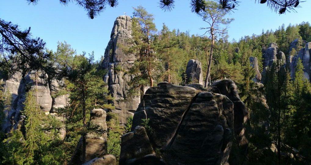 Výhliadka - Skalné mesto Adršpach