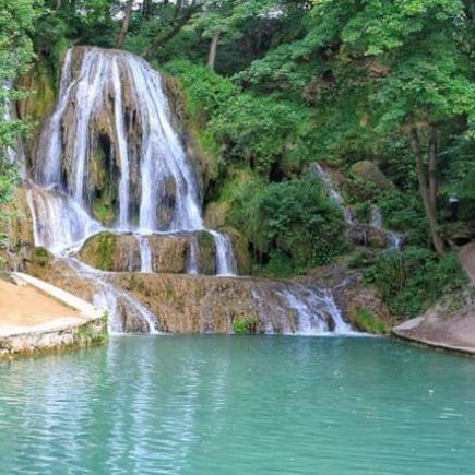Vodopád v Lúčkach , Lučanský vodopád