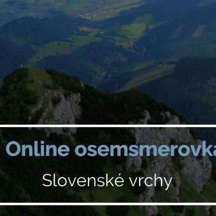 Online osemsmerovka slovenské vrchy a kopce