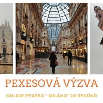 pexesova výzva, online pexeso miláno